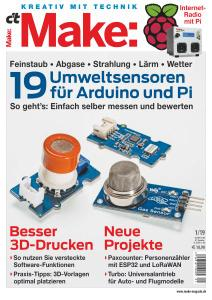 c't Make: Magazin - Nr.1 2019