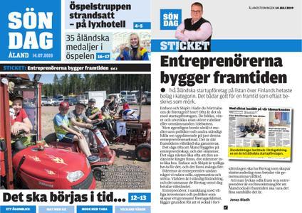 Ålandstidningen – 14 juli 2019