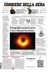 Corriere della Sera - 11 Aprile 2019