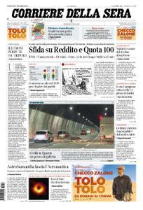 Corriere della Sera – 31 dicembre 2019