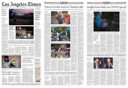 Los Angeles Times – October 01, 2020