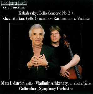 Mats Lidstrom, Vladimir Ashkenazy, Kabalevsky: Cello Concerto No. 2; Khachaturian: Cello Concerto; Rachmaninov: Vocalise (1995)
