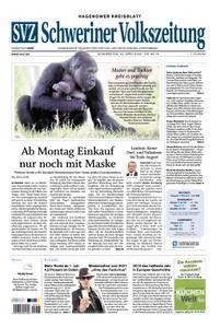 Schweriner Volkszeitung Hagenower Kreisblatt - 23. April 2020