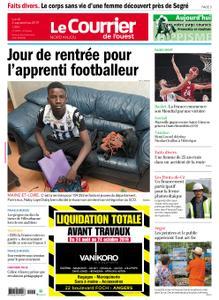 Le Courrier de l'Ouest Nord Anjou – 02 septembre 2019