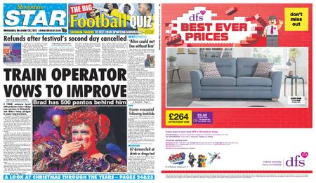 Shropshire Star Shrewsbury Edition – December 26, 2018