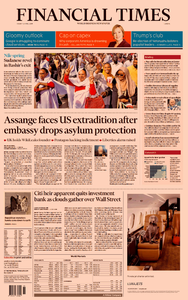 Financial Times Europe – 12 April 2019