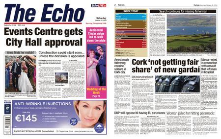 Evening Echo – October 12, 2019