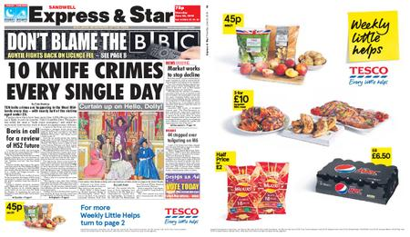 Express and Star Sandwell Edition – June 20, 2019