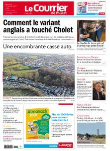 Le Courrier de l'Ouest Cholet – 13 janvier 2021