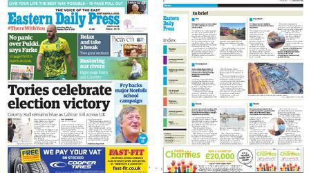 Eastern Daily Press – May 08, 2021