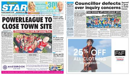 Shropshire Star Shrewsbury Edition – September 29, 2018
