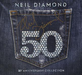 Neil Diamond - 50th Anniversary Collection (2017) {3CD Set Capitol} (Complete Artwork - 8-panel digipak with 28 page booklet)