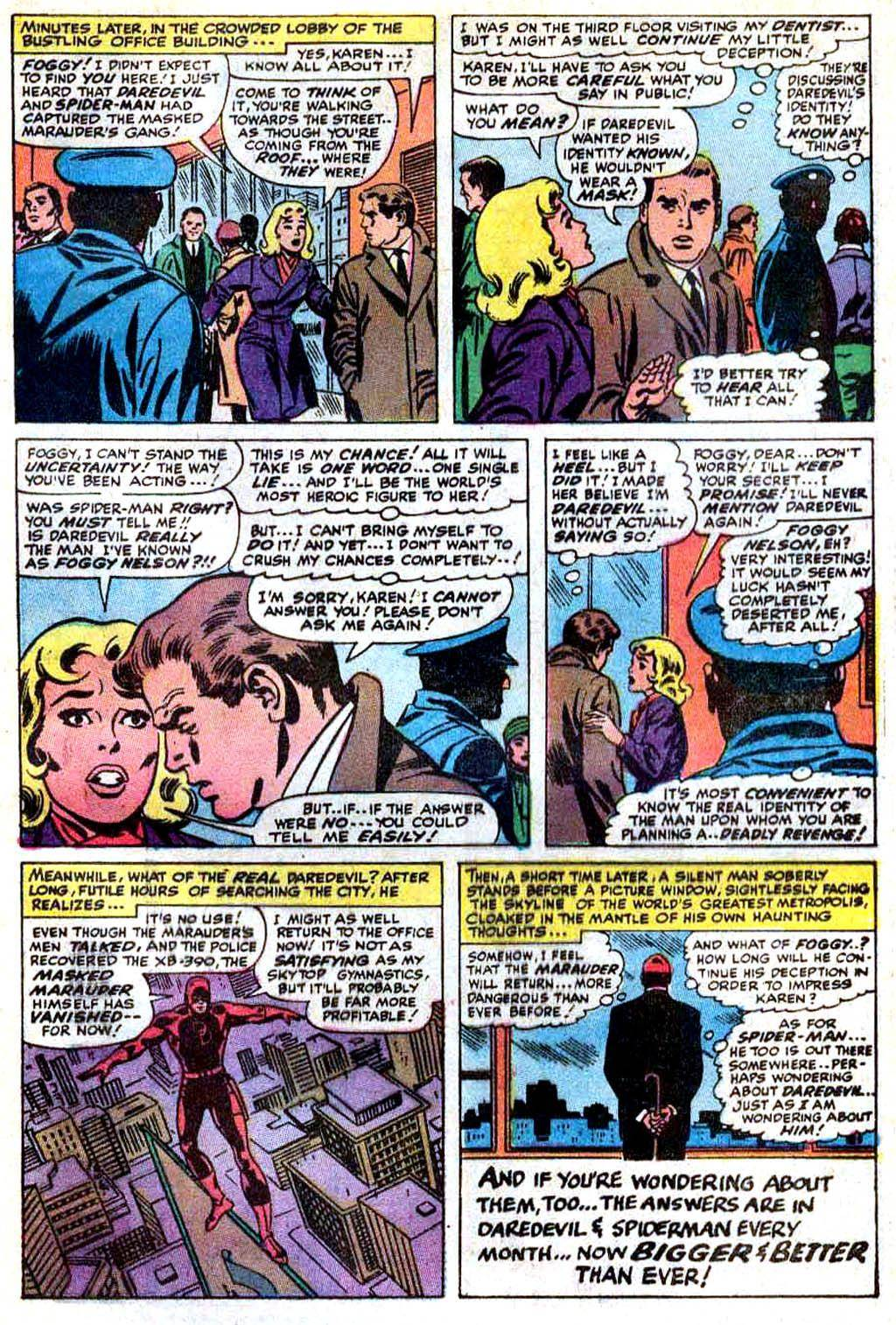 Daredevil v1 Annual 03 1971 Enter Spider-man
