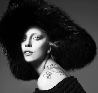 Lady Gaga by Mert & Marcus for Vogue US September 2012