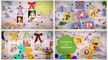 Baby Slideshow - Project for After Effects (VideoHive)