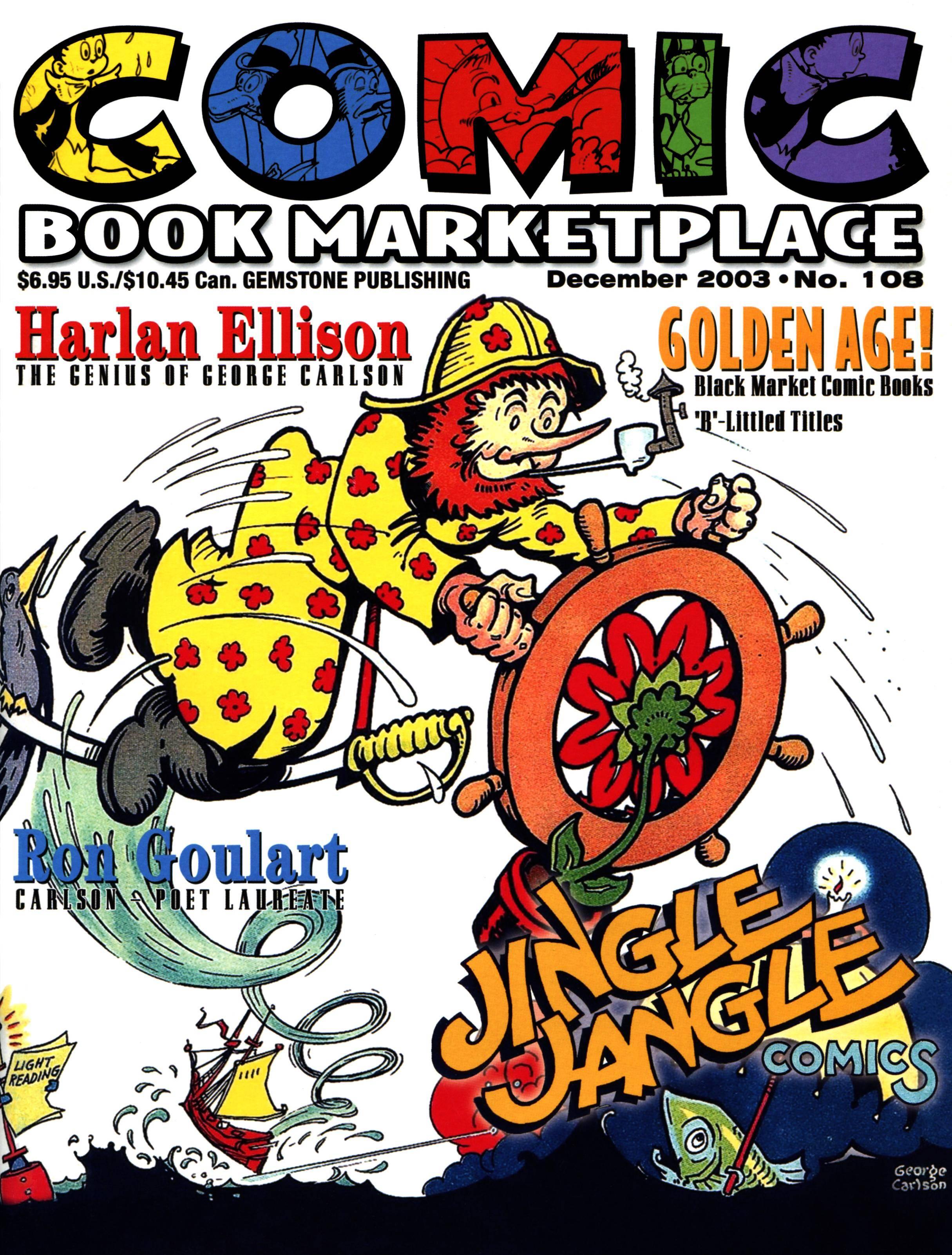 Comic Book Marketplace 108 2003