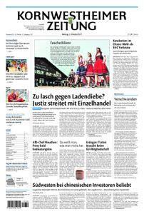 Kornwestheimer Zeitung - 02. Oktober 2017