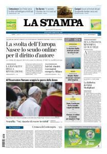La Stampa Torino Provincia e Canavese - 27 Marzo 2019