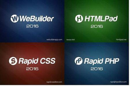Blumentals WeBuilder / Rapid PHP / HTMLPad / Rapid CSS 2016 14.0.0.184