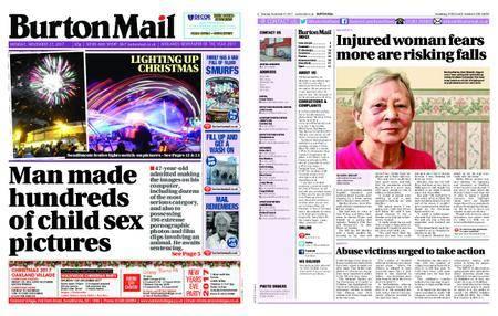 Burton Mail – November 27, 2017