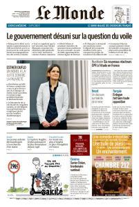 Le Monde du Mercredi 16 Octobre 2019
