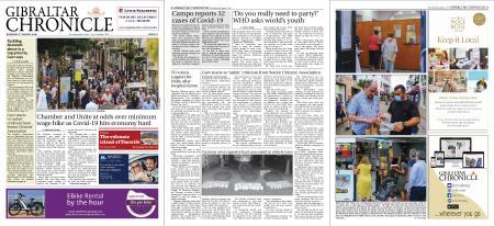 Gibraltar Chronicle – 06 August 2020