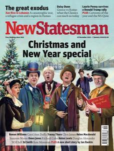 New Statesman - 18 December 2015 - 7 January 2016