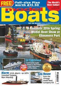Model Boats - June 2016