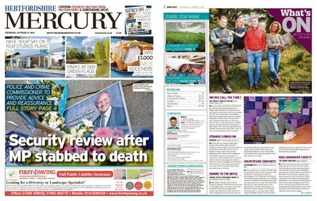 Hertfordshire Mercury Cheshunt and Waltham – October 21, 2021