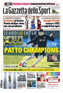 La Gazzetta dello Sport – 29 marzo 2019