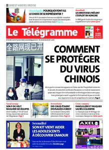 Le Télégramme Brest Abers Iroise – 27 janvier 2020