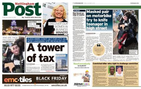 Nottingham Post – November 16, 2018