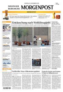 Solinger Morgenpost – 16. Dezember 2019