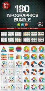 CreativeMarket - Best infographic template bundle