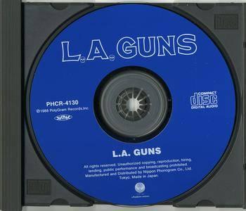 L.A. Guns - L.A. Guns (1988) Japanese Edition