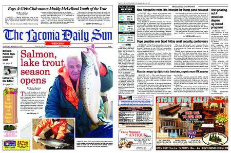 The Laconia Daily Sun – March 31, 2018