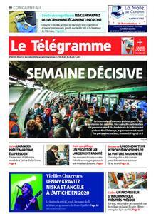 Le Télégramme Concarneau – 17 décembre 2019