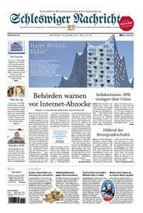 Schleswiger Nachrichten - 10. Januar 2018