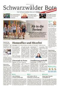 Schwarzwälder Bote Hechingen - 26. Juli 2019