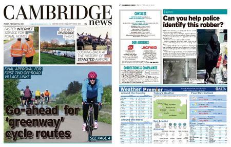 Cambridge News – February 21, 2020