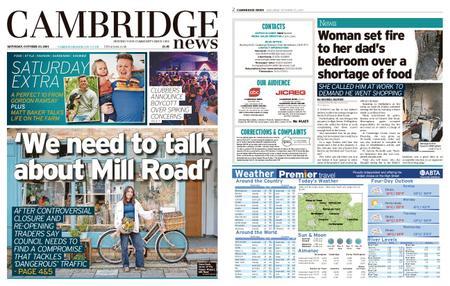 Cambridge News – October 23, 2021