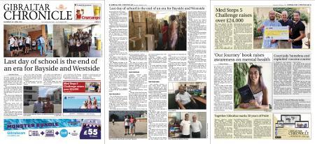 Gibraltar Chronicle – 29 June 2019