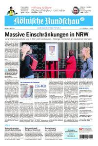 Kölnische Rundschau Wipperfürth/Lindlar – 16. März 2020