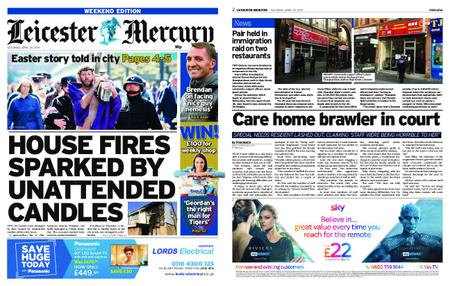 Leicester Mercury – April 20, 2019
