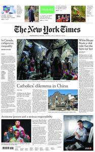 International New York Times - 17 February 2018