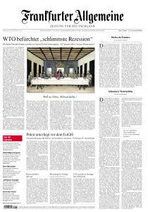 Frankfurter Allgemeine Zeitung - 9 April 2020