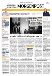 Solinger Morgenpost – 30. September 2019