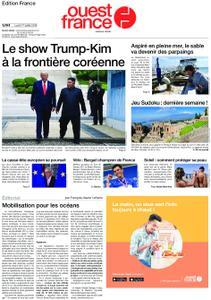Ouest-France Édition France – 01 juillet 2019