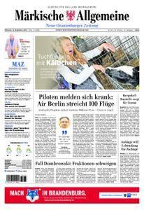 Neue Oranienburger Zeitung - 13. September 2017