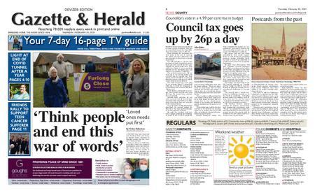 Gazette & Herald – February 25, 2021